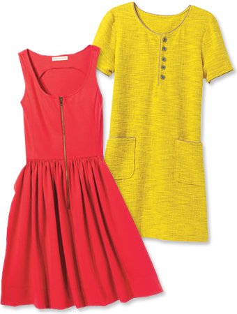 spring trends bright dresses