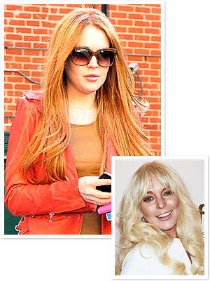 Lindsay Lohan - Red Hair - Blond Hair