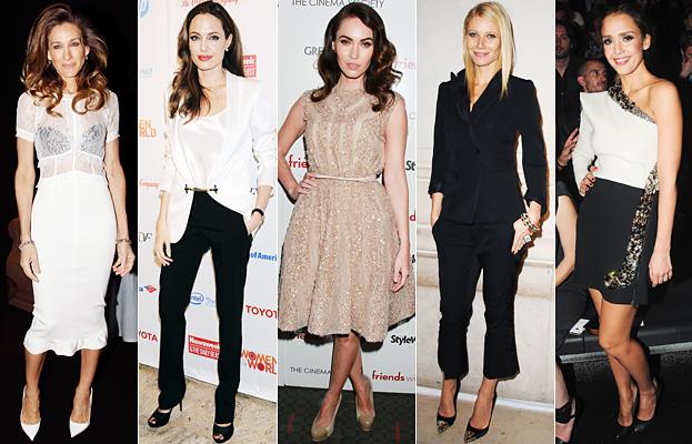 Gwyneth Paltrow, Angelina Jolie, Jessica Alba