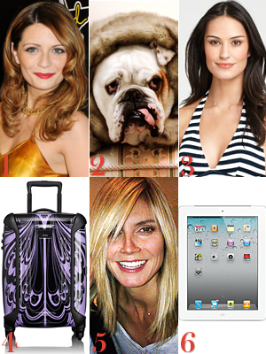 Mischa Barton, Heidi Klum, The Humane Society, Ann Taylor, Anna Sui