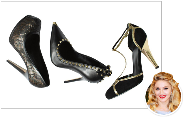Madonna, Truth or Dare, Shoes
