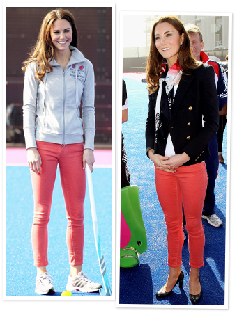 Kate Middleton, Red Pants