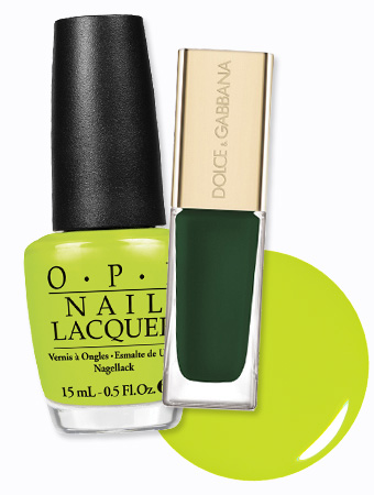 Green Nail Polish
