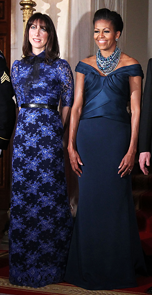 Michelle Obama, Samantha Cameron