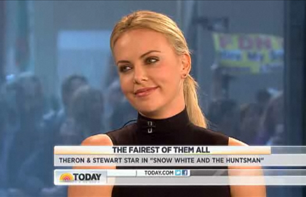 Charlize Theron, Today Show