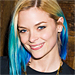 New Hairstyle Alert: Jaime King's Blue Dip-Dye Hair