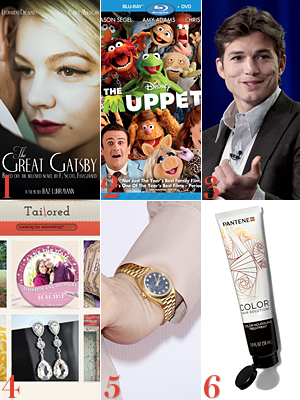 Carey Mulligan, The Muppets, Ashton Kutcher