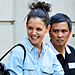 Found It! Katie Holmes&#039;s Floral Jeans