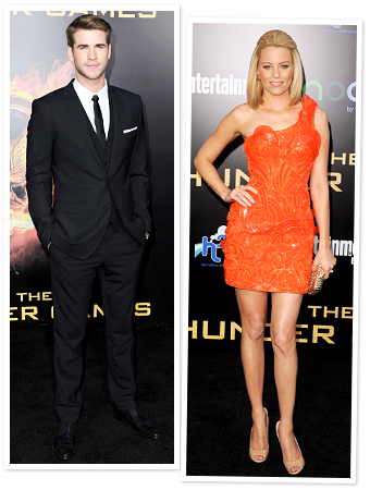 Liam Hemsworth, Elizabeth Banks