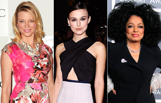 Amy Smart, Keira Knightley, Diana Ross