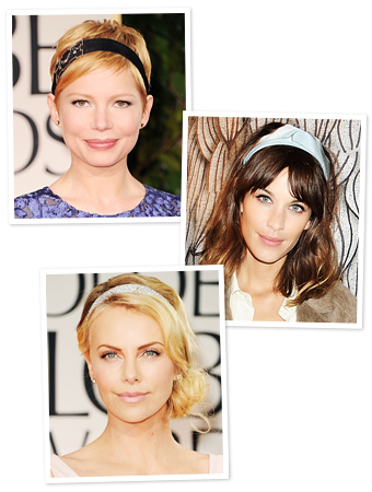 Michelle Williams, Alexa Chung, Charlize Theron