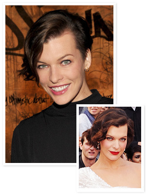 Milla Jovovich, Hair