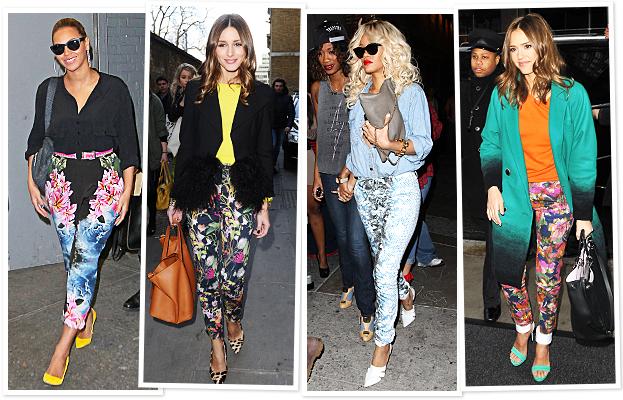 Beyonce, Olivia Palermo, Rihanna, Jessica Alba