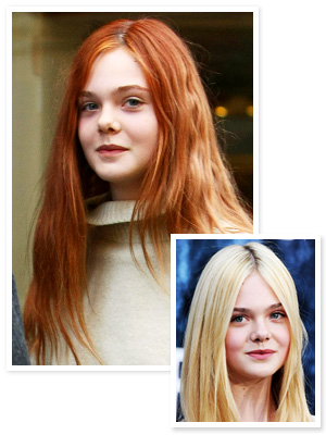 Elle Fanning Hair Color