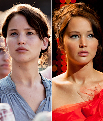 Movie Makeovers, The Hunger Games, Jennifer Lawrence