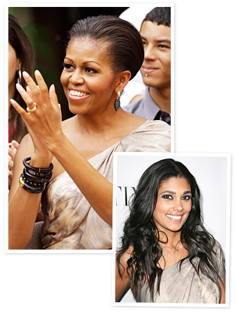 Michelle Obama, Rachel Roy