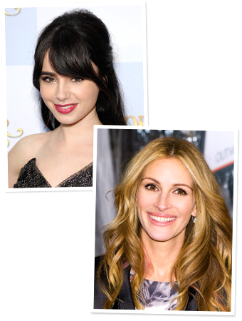 Lily Collins, Julia Roberts