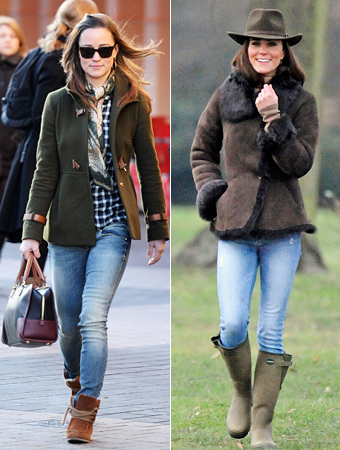 Kate Middleton, Pippa Middleton, MET Jeans