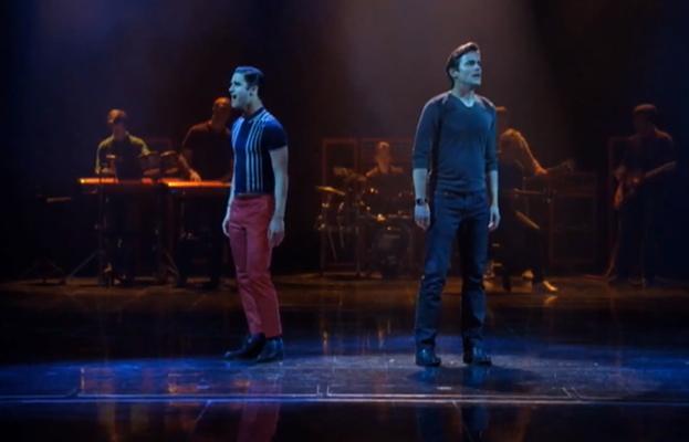 Darren Criss, Matt Bomer, Glee