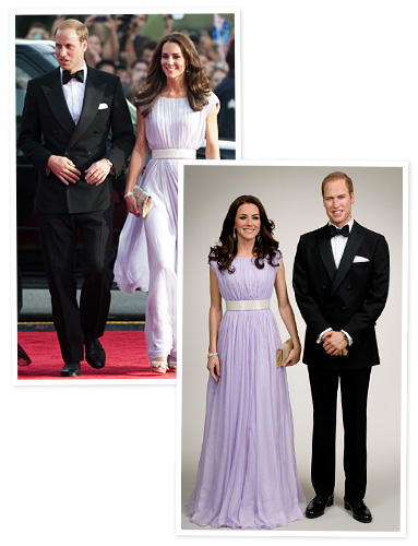 Prince William, Kate Middleton, Madame Tussauds