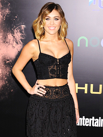 Miley Cyrus Two Piece Dress