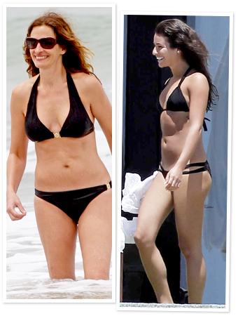 Julia Roberts, Lea Michele