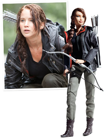 Katniss Everdeen Barbie, Jennifer Lawrence, The Hunger Games