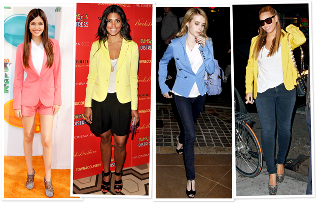 Victoria Justice, Rachel Roy, Emma Roberts, Beyonce