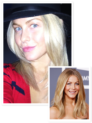 Julianne Hough Blond Hair