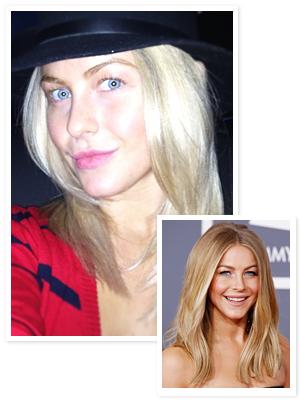 Julianne Hough Blond Hair
