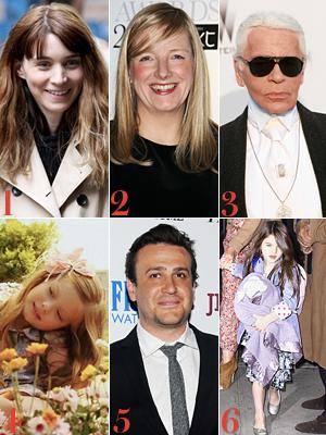 Rooney Mara, Sarah Burton, Karl Lagerfeld