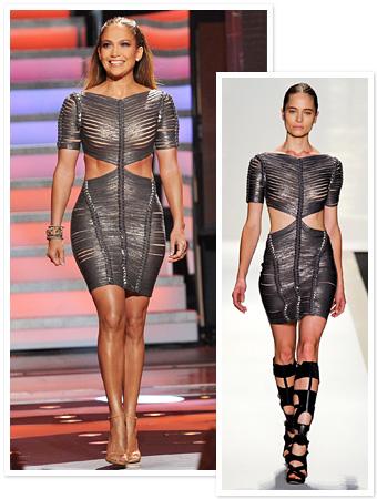 Jennifer Lopez, Herve Leger