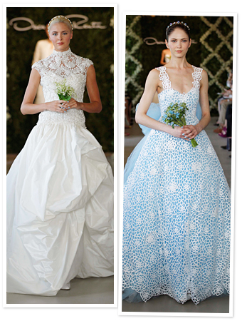 Oscar de la Renta bridal