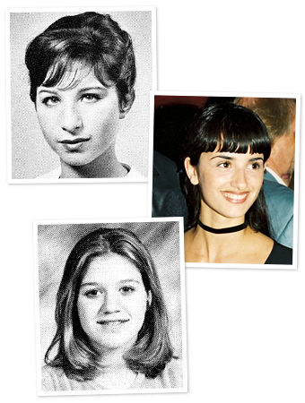 Barbra Streisand, Penelope Cruz, Kelly Clarkson