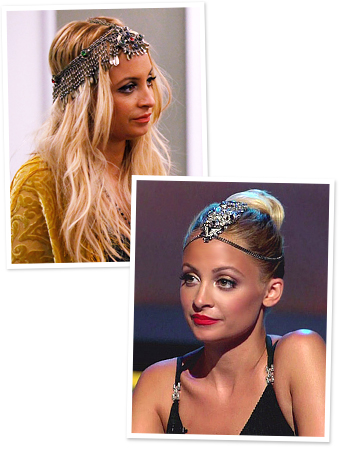 Nicole Richie, Fashion Star, Headpiece