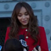 Ashley Madekwe's Revenge Style: Her Red Gucci Coat