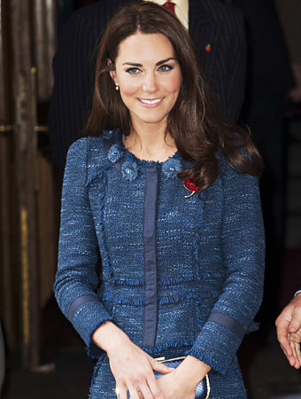 Kate Middleton, Rebecca Taylor