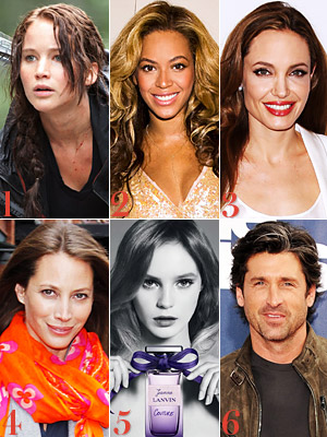 The Hunger Games, Beyonce, Angelina Jolie