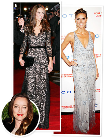 Alice Temperley, Kate Middleton, Heidi Klum
