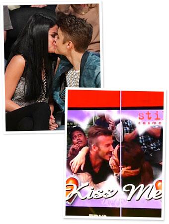 celebrity kiss cam