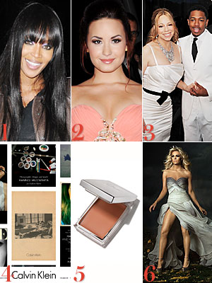 Naomi Campbell, Demi Lovato, Mariah Carey