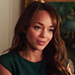 Revenge Style: Ashley Madekwe on Her Green Resignation Dress