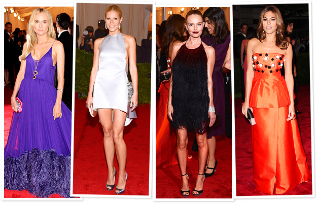 Diane Kruger, Gwyneth Paltrow, Kate Bosworth, Eva Mendes