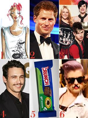 Rihanna, Armani, Prince Harry, American Idol