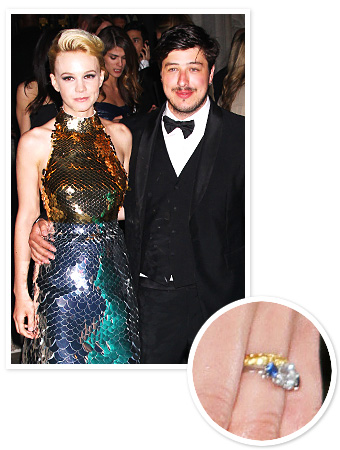 Carey Mulligan Wedding Ring
