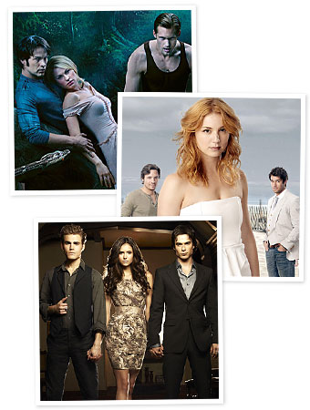 True Blood, Revenge, Vampire Diaries