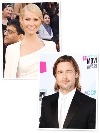 Gwyneth Paltrow and Brad  Pitt Book New Perfume Campaigns : InStyle
