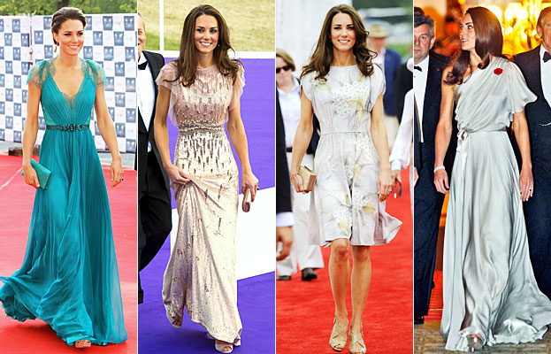 Kate Middleton, Jenny Packham