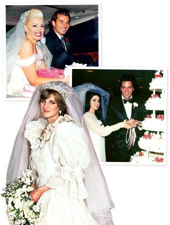 Gwen Stefani wedding, Princess Diana wedding
