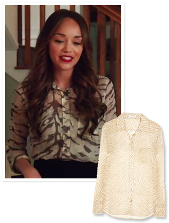 Revenge, Ashley Madekwe, Exclusive